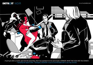 Detroit: NOIR by m-u-h-a
