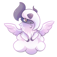 Patron Request - Mega Absol by Petuniabubbles