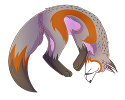 Patron Christmas Gift - A Good Fox! by Petuniabubbles