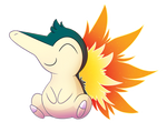 Patron Christmas Gift - Cyndaquil!