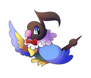 Request - George the Chatot by Petuniabubbles