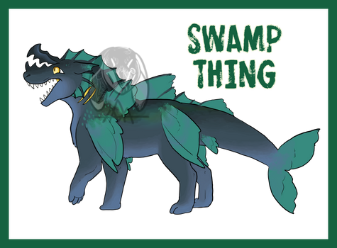 (OPEN) Swamp Thing