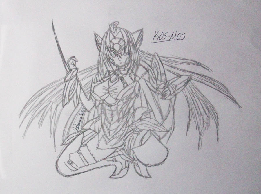 KOS MOS Sketch by bikini-sama