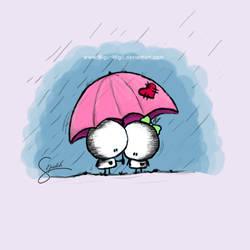 Feel nice in rain