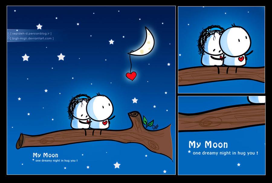 my moon by bigli
