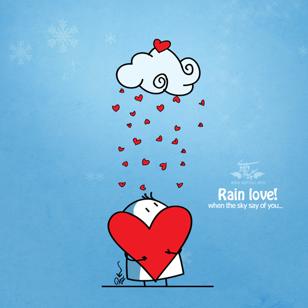 Rain Love by BIGLI-MIG...