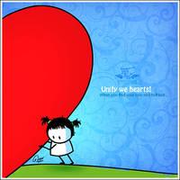 Unify we heart's by BIGLI-MIGLI