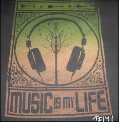 Music IS my life by TF141Soldier