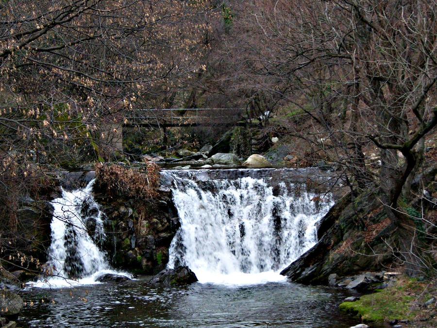 waterfall by Furious--Angel