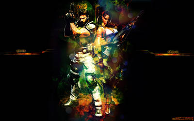 Chris and Sheva from RE5