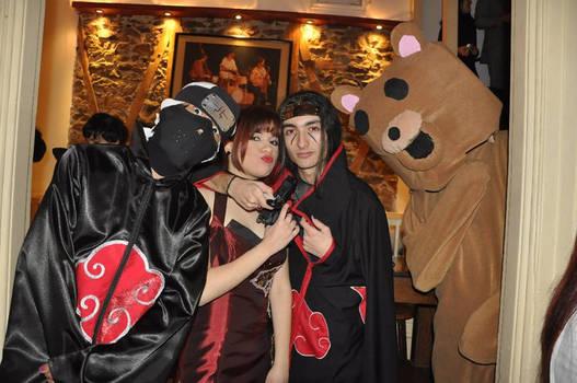 Kakuzu, Wong, Itachi and PEDO
