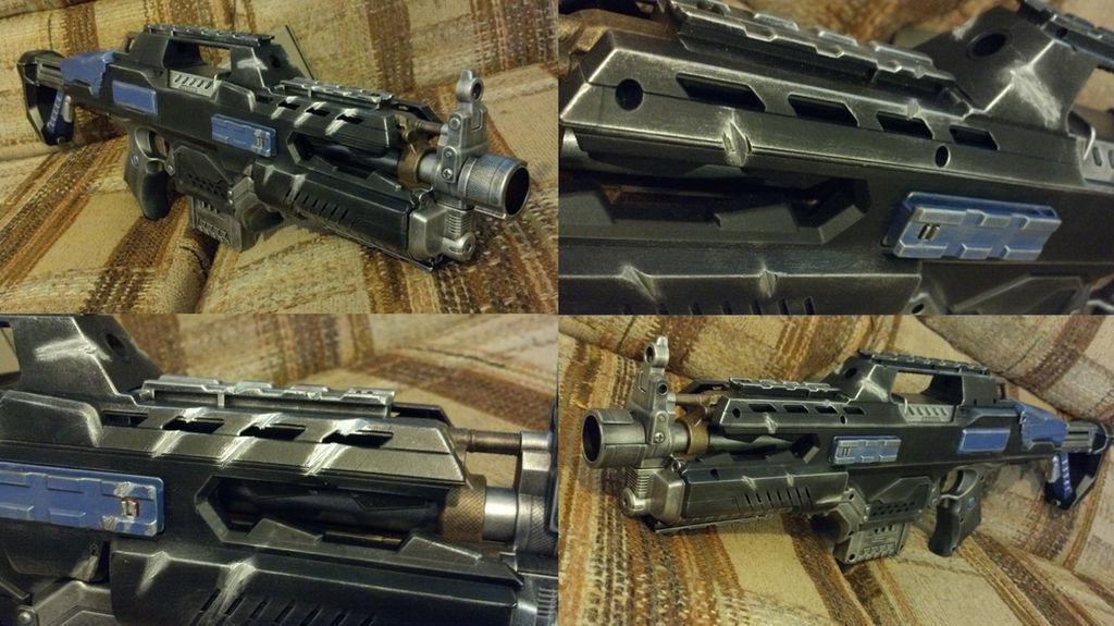Modified Nerf Rapidstrike- The Claw