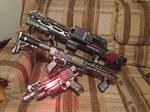 Red Militia Weaponry Set