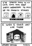 Comic Shop Nonsense