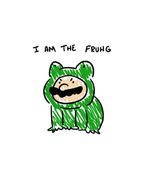 Be the fruhg by WaywardDoodles