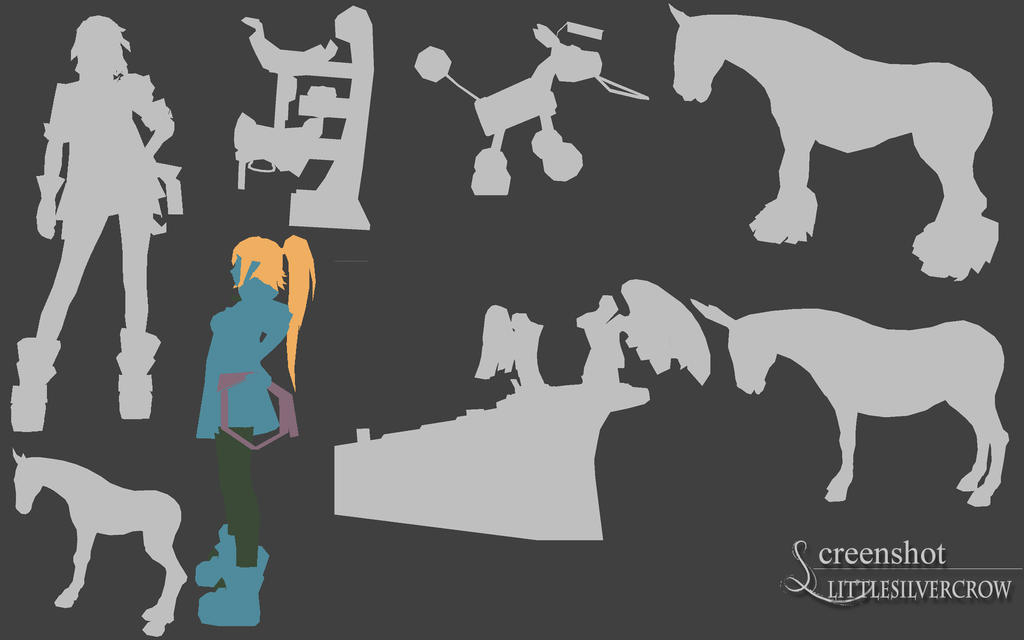 Meshes from Alicia 2 0 by Littlesilvercrow on DeviantArt