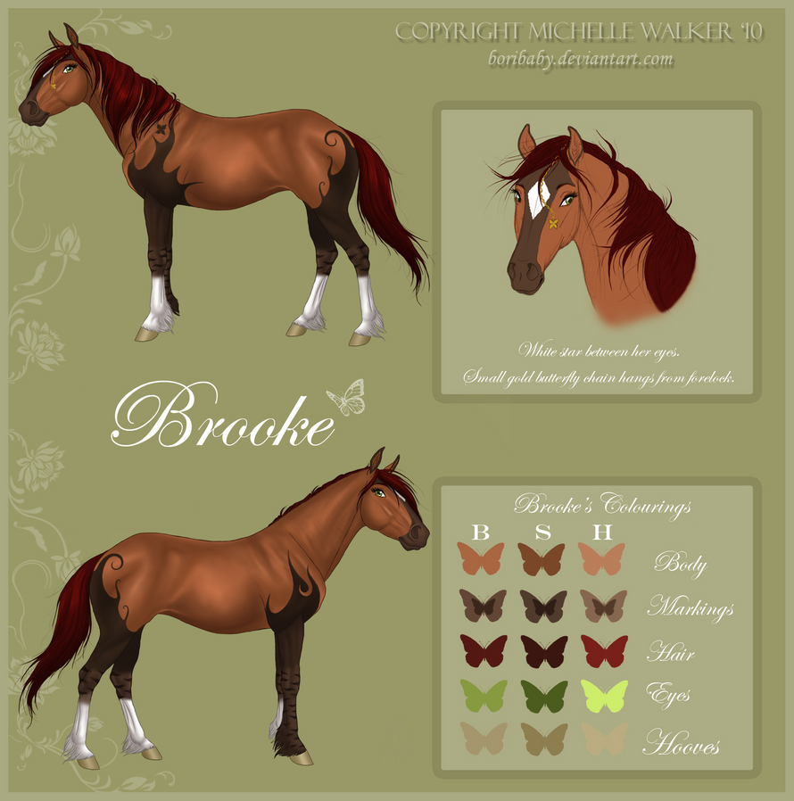 NEW Brooke Reference by MichelleWalker