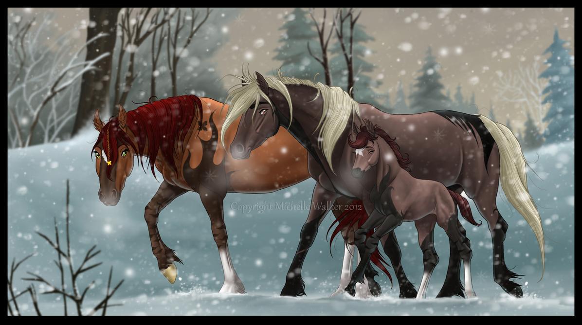 Winter Woodland by MichelleWalker