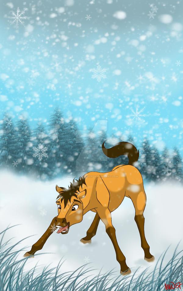Spirit's First Winter by MichelleWalker