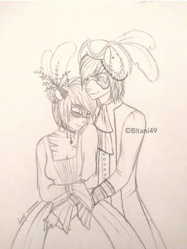 Sketchtober Day 1: Masquerade