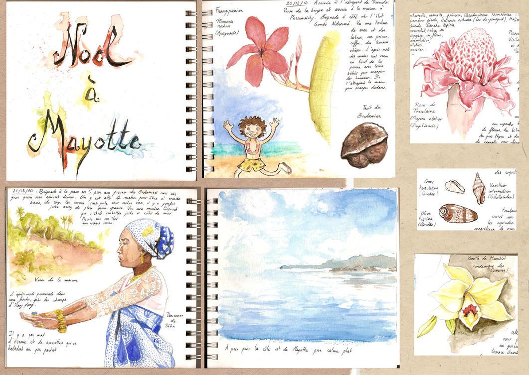 carnet de voyage mayotte by syalice on deviantart. Black Bedroom Furniture Sets. Home Design Ideas