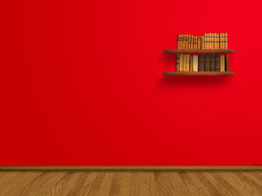Red wall by noxcious kid on deviantart for Red wallpaper designs for walls