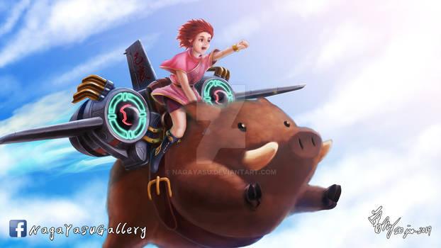 Let's Flight!!! Chocolate