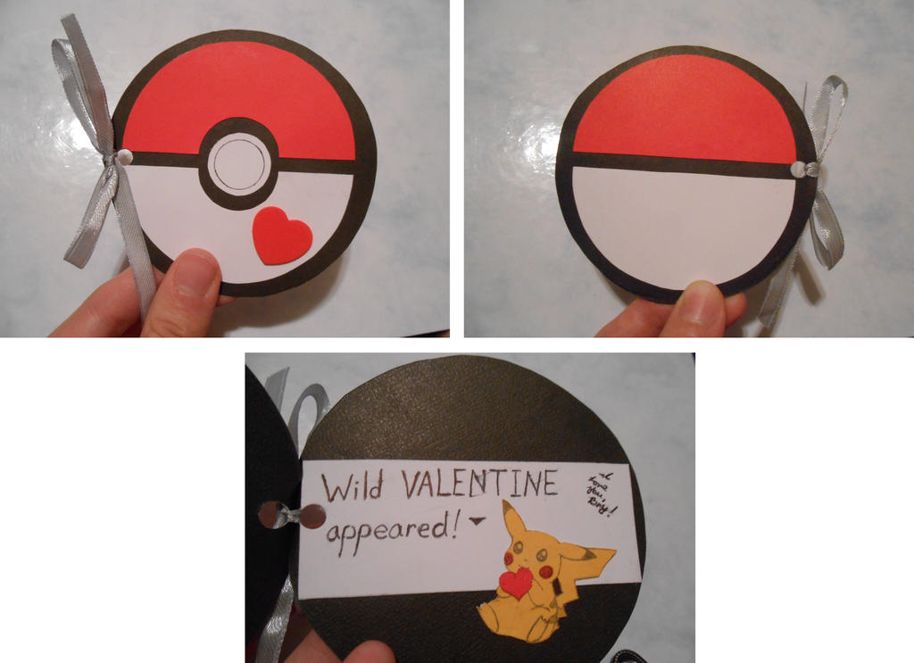 Pokeball Valentine by MeepinKuri