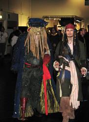 Jack Sparrow + Davie Jones