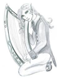 Harp by Nagusameru