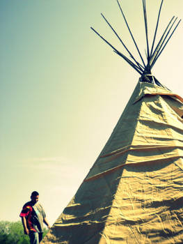 Building teepees