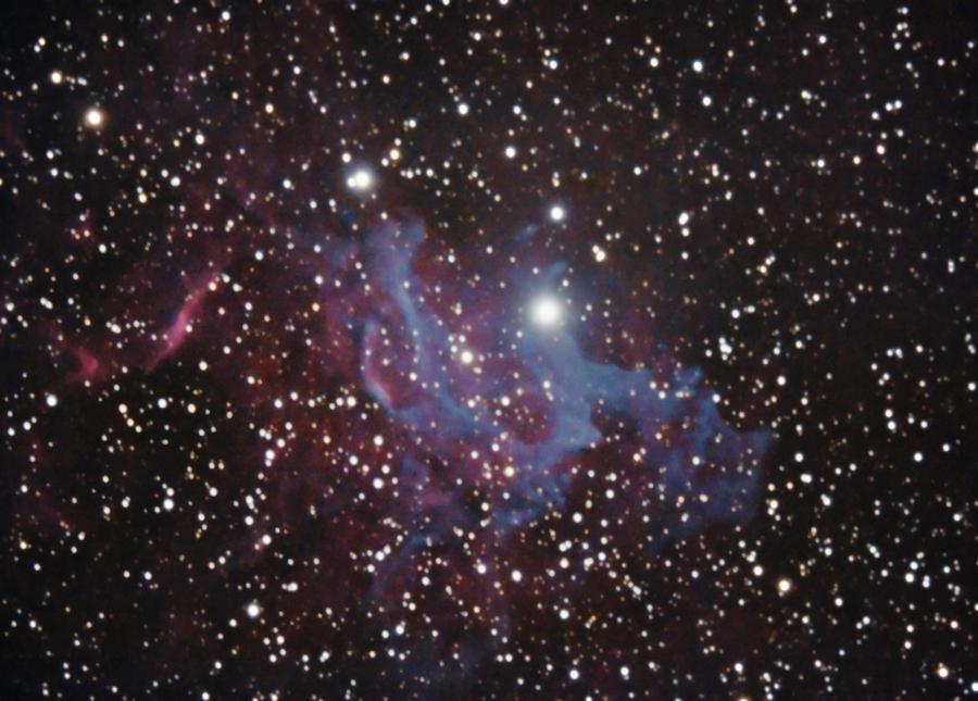 IC-405 The Flaming Star Nebula by RayM0506 on DeviantArt