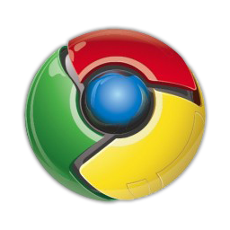 Google Chrome Dock Icon by Little-FR34K