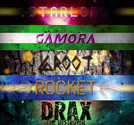 Guardians of the Galaxy Typography