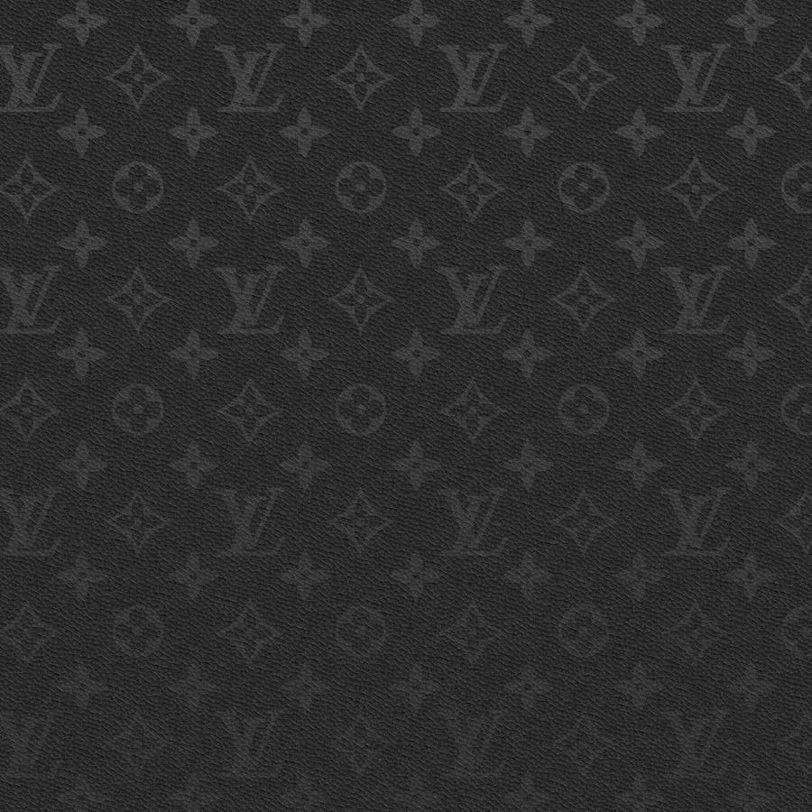 Black Leather LV - iPad
