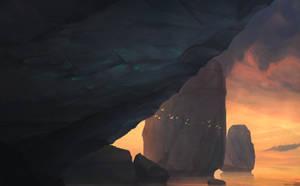 Cliffs by snaku6763