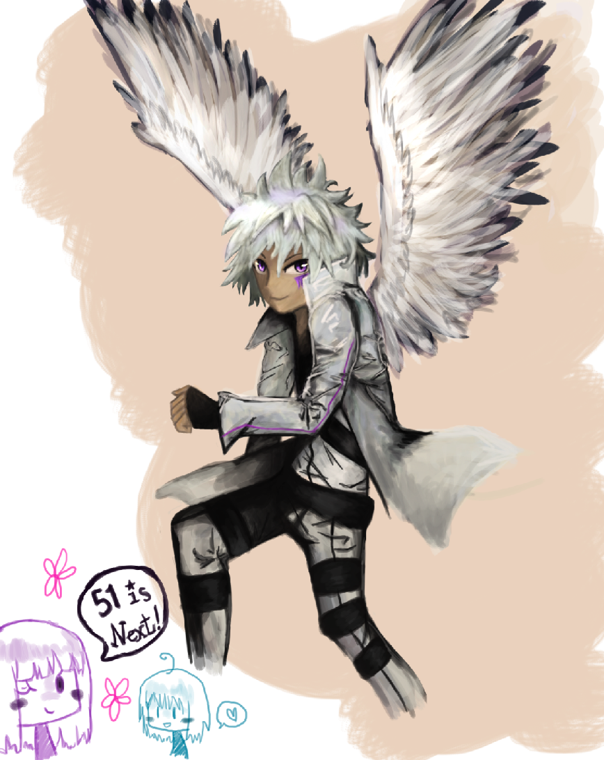 Byakuran Practice Sketch (#3 Light) by juliet-the-ninja