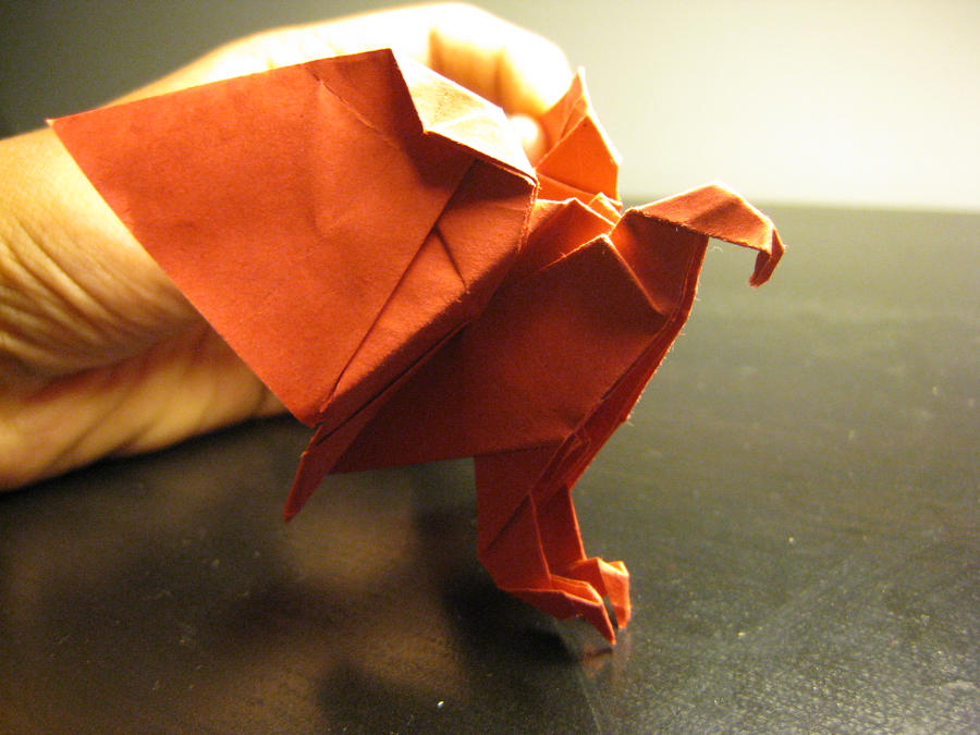 how to make an origami eagle