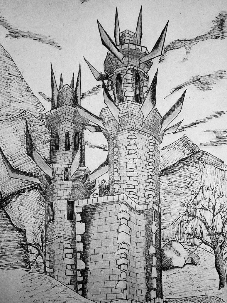 Xardas Tower By Namira25