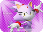 Wallpaper Blaze the Cat - The London Olympic Game