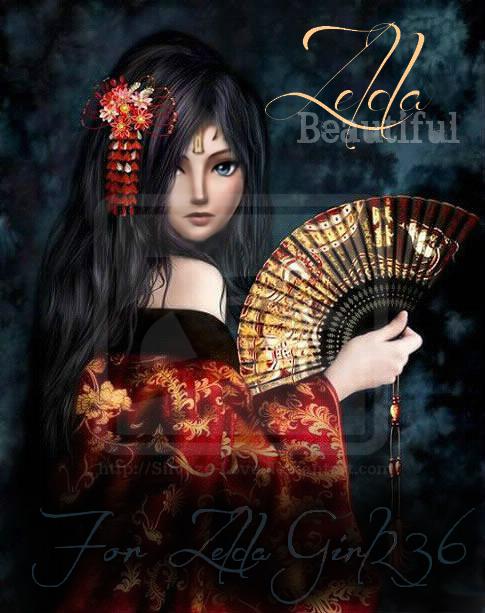 .: Gift for ZeldaGirl236 - Geisha Zelda  :.
