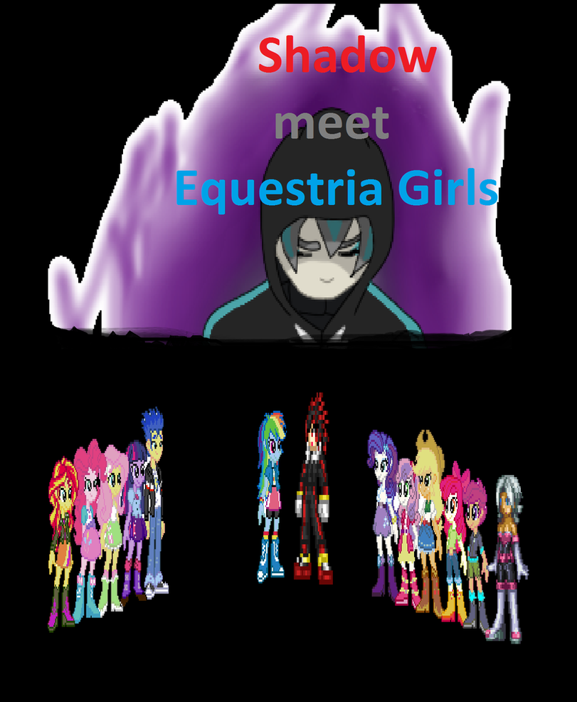 Shadow Meet Equestria Girls Comic Cover By Redrangerki On