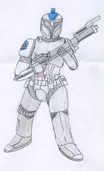 Imperial Police Trooper by redrangerki