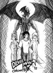 Devilman Chronicle X Volume 1 Cover by redrangerki