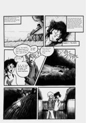 Devilman Chronicle X Volume 1 Ch1 Pg1 by redrangerki