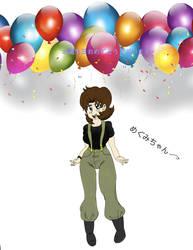 Happy Birthday Megumi-chan by redrangerki