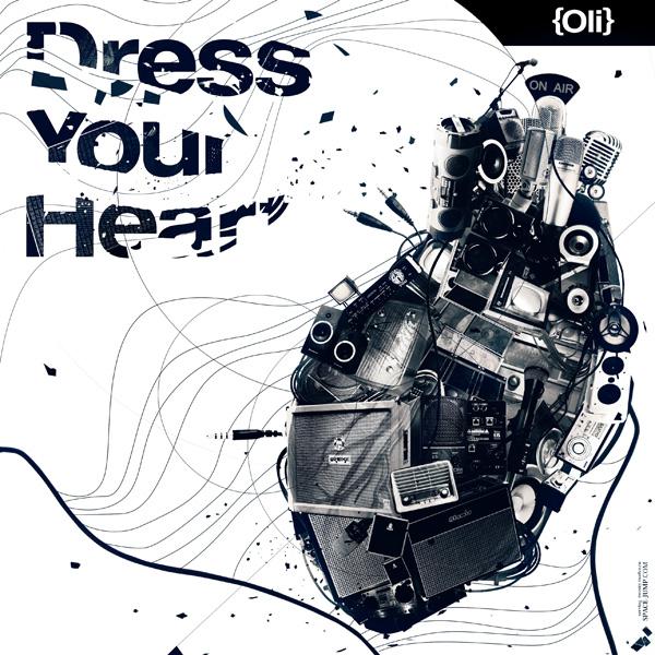 Dress Your Heart CD Cover by myaki-ru