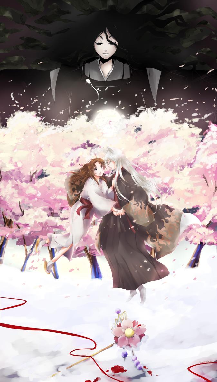 Sakura in the Past by KiraKiraNinja