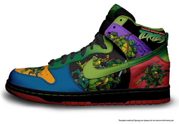 Buy Tmnt Nike Shoes