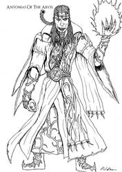 Zagor, the Warlock of Firetop Mountain by AntoniasOfTheAbyss